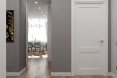 Дизайн интерьера прихожей и коридора 11,4 кв.м., в г. Екатеринбург