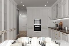 Дизайн интерьера кухни 21 кв.м., в г. Екатеринбург