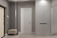 Дизайн интерьера прихожей 7,5 кв.м. г. Екатеринбург