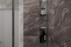 Дизайн интерьера ванной комнаты 3.9 кв.м., в г. Екатеринбург