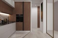 Дизайн интерьера кухни 14.1 кв.м., в г. Екатеринбург