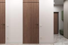 Дизайн интерьера коридора 4.9 кв.м., в г. Екатеринбург
