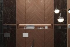 Дизайн интерьера санузла 3.1 кв.м., в г. Екатеринбург