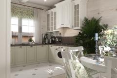 Дизайн интерьера кухни 17,3 кв.м., Сысертский р-н