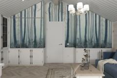 Дизайн интерьера гостевой комнаты 25,0 кв.м., Сысертский р-н