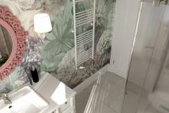 Дизайн интерьера душевой комнаты 6,8 кв.м., Сысертский р-н