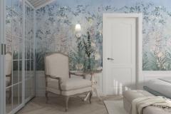 Дизайн интерьера спальни 17,2 кв.м., Сысертский р-н