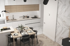Дизайн-проект кухни-гостиной в г. Екатеринбург