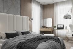 Дизайн-проект спальни в г. Екатеринбург