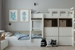 Дизайн-проект детской в г. Екатеринбург