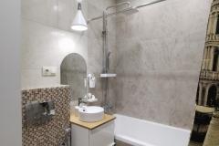 Дизайн интерьера ванной комнаты  г. Екатеринбург  ул.  Чемпионов