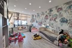 Дизайн интерьера детской в г. Екатеринбург