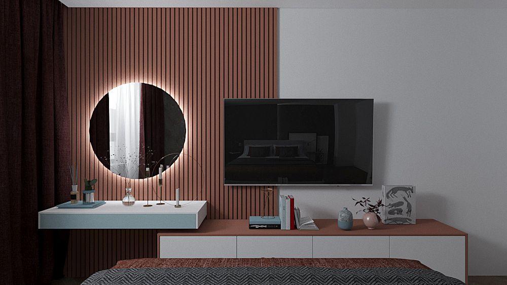 дизайн интерьера гостиная кухня дерево спальня екатеринбург