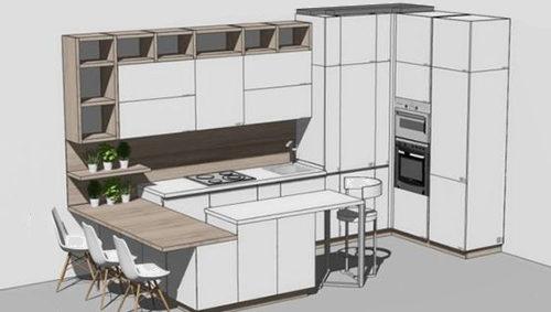Дизайн мебели / Эскизный проект от 500 р./кв.м.